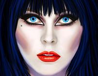 """Elvira: Mistress of the Dark"" - Alternative Poster"