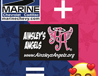 A project in support of Ainsley's Angels of America.