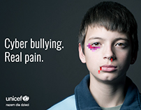 Cyber bullying. Real pain.