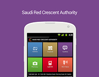 Android Apps for Saudi Red Crescent Authority
