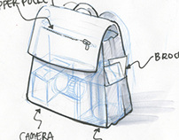 Soft Goods Re-Design (Tourist Backpack)