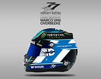 Valtteri Bottas Helmet Design Contest 2018