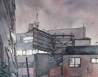 """""""Tokyo at Night"""" #01"""