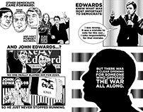 08: A GRAPHIC DIARY OF THE CAMPAIGN TRAIL Graphic Novel