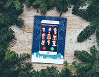 Customized Christmas Postcard | TabMo