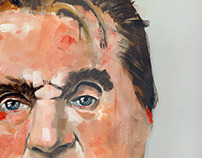 New Acrylic on canvas - Francis Bacon