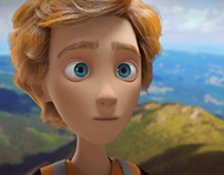 3D character design for animated short