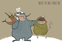 Where the wild things are Character design