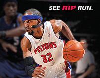 Detroit Pistons Print Ads