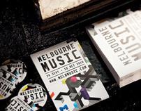 Melbourne Music branding