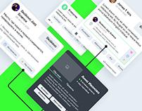Moscow City Hack → App design