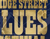 Bridge Street Blues Festival Poster