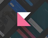 Cover UI kit for eCommerce