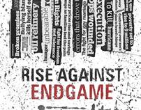 Rise Against Album Poster