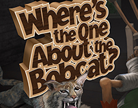 "Book Design, ""Where's the One About the Bobcat?"""