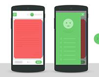 UI/UX Design - Reader Interface