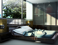 3D INTERIOR VISUALIZATION BEDROOM