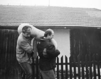 Slovakian villagers