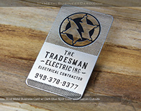 Fully Custom Stainless Steel Business Card