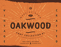 OAKWOOD PRESS FONT
