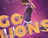 artwork: go lions