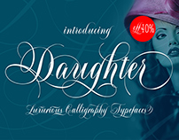 Daughter Script + Flourish
