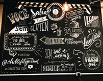 chalklettering // club ilfe to go, SP