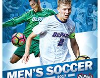 DePaul Men's Soccer Poster