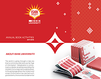 ISHIK UNIVERSITY ANNUAL BOOK ACTIVITIES