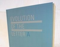 Evolution of the Letter A