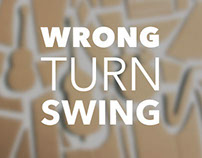 Wrong Turn Swing (CD Cover Artwork)