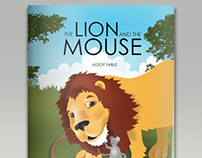 The Lion and the Mouse - Educational Illustration