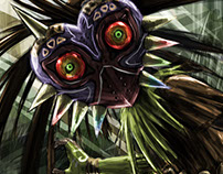 The Legend of Zelda: Majora's Mask - Skull Kid