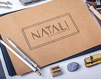 Criação de Logo Natali Photographs