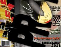 Promo Magazine Cover and Spreads