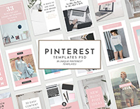 18 Free Unique Pinterest Graphic Templates For Bloggers