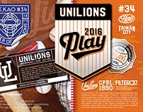 2016 UNILIONS Fight And Play Passport