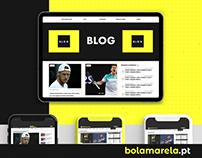 Bola Amarela - Rebranding