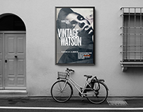 Albert Watson exhibition Poster and Brochure