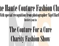 Couture For a Cure Flyers