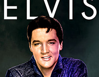 "Black and white colorization project ""ELVIS"""