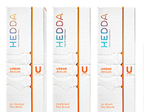 Hedda Beauty Essentials - Brand Identity & Packagings