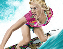 BETHANY HAMILTON ILLUSTRATION