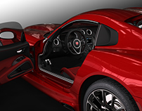 SRT Viper Interior Advanced Design