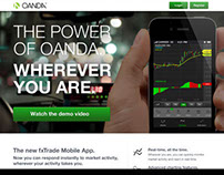 OANDA fxTrade Mobile - Launch 3.0