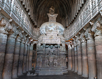 Ajanta and Ellora Caves of Aurangabad, India