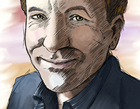 Portrait of Michael Shermer
