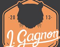 Personnal 2013 logo and webfolio