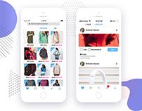 Social Shopping App for iPhone