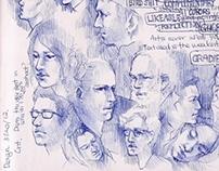 Sketchbook Spring 2012